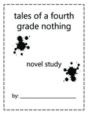Tales of a Fourth Grade Nothing Novel Study
