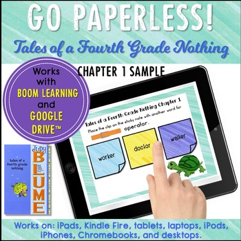 Tales of a Fourth Grade Nothing Novel Study Chapter 1