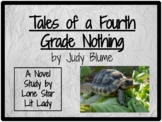 Tales of a Fourth Grade Nothing: Novel Study Response Book
