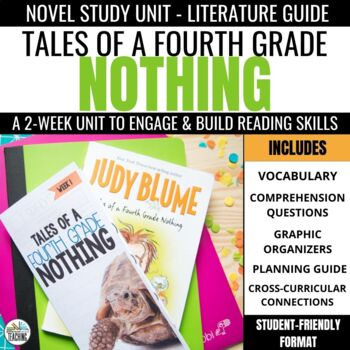 Tales of a Fourth Grade Nothing Foldable Novel Study Unit