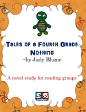 Tales of a Fourth Grade Nothing Novel Study - Vocab, Compr, Grammar
