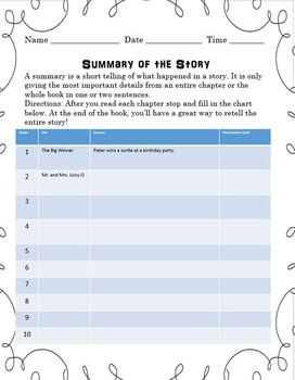 Tales of a Fourth Grade Nothing Novel Study - Vocab, Compr, Grammar