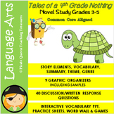 Tales of a Fourth Grade Nothing Novel Study for Grades 3-5/Common Core Aligned