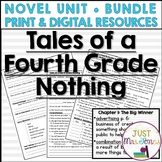 Tales of a Fourth Grade Nothing Novel Unit | Distance Learning