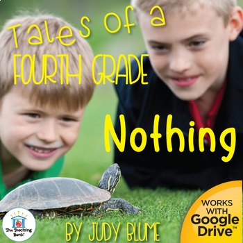 Tales of a Fourth Grade Nothing Novel Study Book Unit