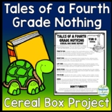 Tales of a Fourth Grade Nothing Project: Cereal Box Book Report Activity