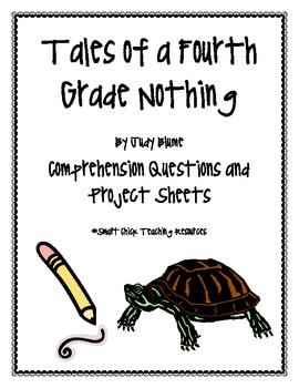 """Tales of a Fourth Grade Nothing"", Questions and Projects"