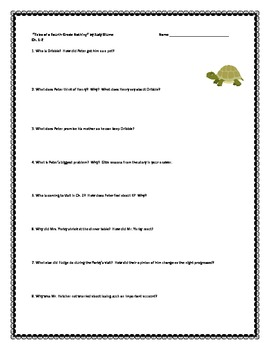 """""""Tales of a Fourth Grade Nothing"""", Questions and Projects"""