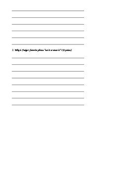 Tales of a Fourth Grade Nothing Quiz Chapters 1-4