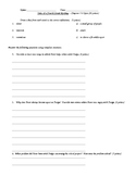 Tales of a Fourth Grade Nothing Quiz Chapters 5-8