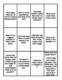 Tales of a Fourth Grade Nothing Quiz, Quiz, Trade