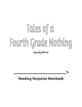 Tales of a Fourth Grade Nothing Reading Comprehension Questions