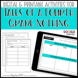 Tales of a Fourth Grade Nothing by Judy Blume... Reading Comprehension Unit