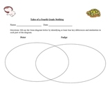Tales of a Fourth Grade Nothing Venn Diagram Activity Answer Key