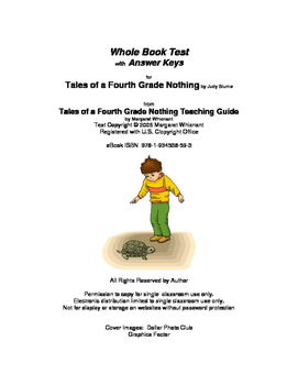 Tales of a Fourth Grade Nothing  Whole Book Test