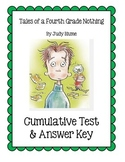Tales of a Fourth Grade Nothing by Judy Blume: Test