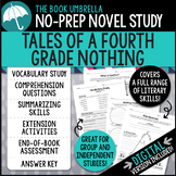 Tales of a Fourth Grade Nothing Novel Study - Distance Learning Google Classroom
