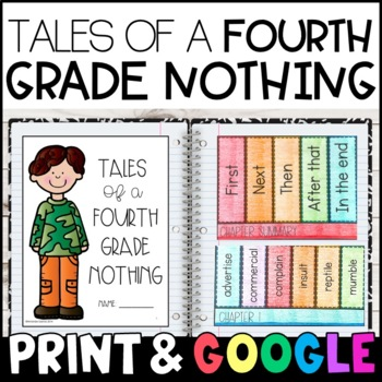 Tales Of A Fourth Grade Nothing Character Traits TpT