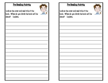 Tales of a Fourth Grade Nothing, by Judy Blume: Response Notebook