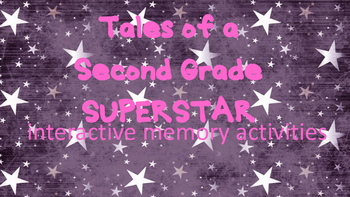 End of the Year, Tales of a Second Grade SuperStar Interactive Memory Activity