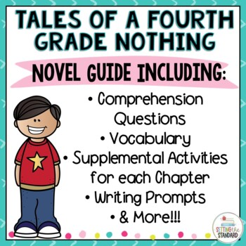 Tales of the Fourth Grade Nothing Novel Unit