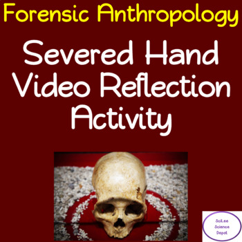 """Tales of the Living Dead """"Severed Hand"""" Video Reflection Activity"""