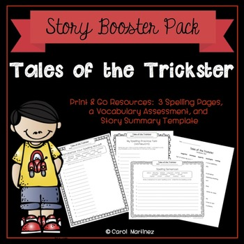 Trickster Stories Worksheets Teaching Resources TpT