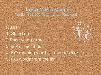 Talk A Mile A Minute