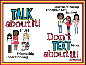 Talk About It, Don't Text About It!  by Counseling from the Heart