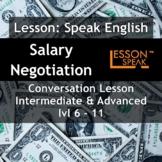 Talk About Salary Negotiation - [ESL Adult Conversational