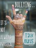 Talk Hurts Anti-Bullying Poster