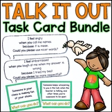 Talk It Out I-Message Task Card Bundle