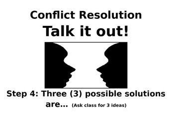 Talk It Out! Walk the Path to Conflict Resolution (English)