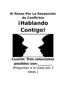 Talk It Out! Walk the Path to Conflict Resolution (Spanish)