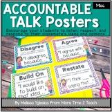 Talk It Up! (polka dots) Accountable Talk/ Collaborative Conversation Posters