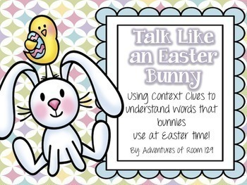 Talk Like A...  A Context Clue Activity BUNDLE Pack