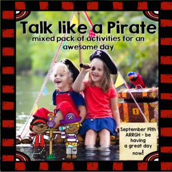 Talk Like A Pirate - Mixed pack for Language and Articulation