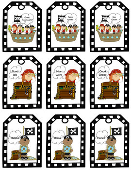 Talk Like A Pirate Day Activities (Talk Like A Pirate Day Brag Tags)