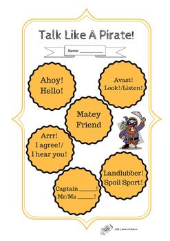 Talk Like A Pirate Day Fun