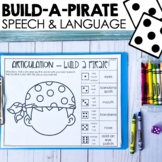 Talk Like A Pirate Day - Speech Therapy Activities