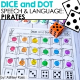 Talk Like A Pirate Day Speech Therapy Activities! Dice and Dot