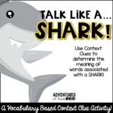 Shark Context Clue Activity