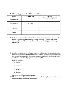 Talk Like Ted Chapter 1 Discussion Questions