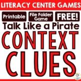 """FREEBIE:  """"Talk Like a Pirate!"""" A Context Clues Game"""