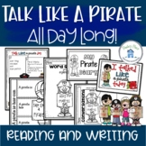 Talk Like a Pirate Day Activities and Worksheets