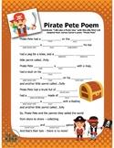 Talk Like a Pirate Mad Lib (interactive PDF and Google Slide)