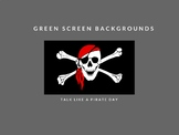 Talk Like a Pirate Image Pack Green Screen Makerspace Back
