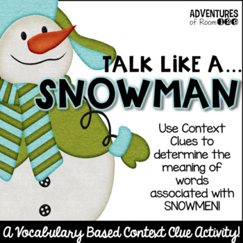 Winter Context Clue Activity