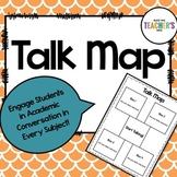 Talk Map for Academic Conversation