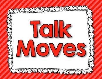 """""""Talk Moves"""" Meaningful Discussion Posters - Rainbow Set"""